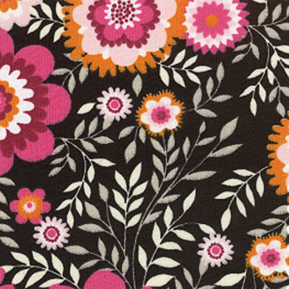 Print Fabric / Flower Print Fabric / Cotton Fabric / 60 Inches Wide / quilting Fabric / Sewing Fabric / Fabric Finders 981