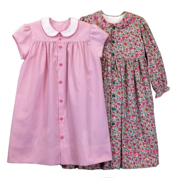 Childrens Corner Pattern / Ruthie Pattern / Girl's Dress Pattern / Cap Sleeve Pattern / Front Button Dress Pattern/ #282