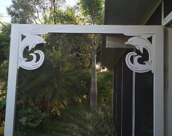 Screen Door Decor x 2