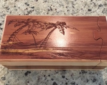 Solid Wood Box, Puzzle