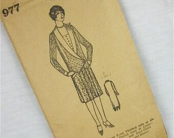 Vintage 20s Dress Sewing Pattern