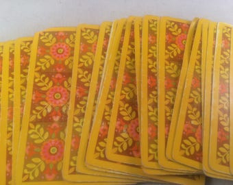 Vintage 70s Playing Cards
