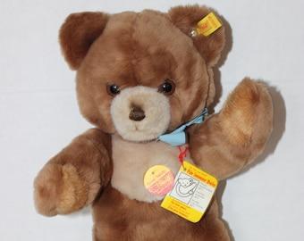 "14"" Vintage Steiff Cozy Teddy Bear with Original Tags"