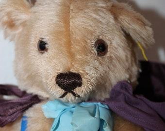 """Vintage Steiff 14"""" Mohair Teddy Bear Number 0245/40"""