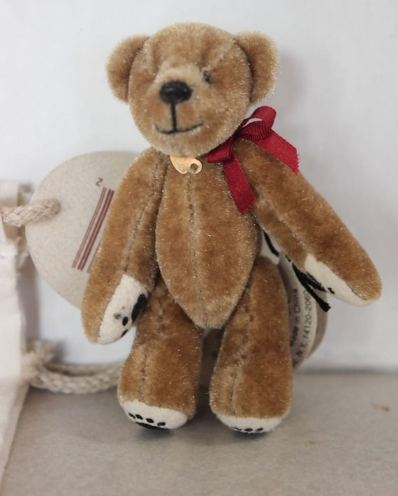 Fine Annette Funicello Collectible Bear Bambina Limited Edition Coa Dolls & Bears