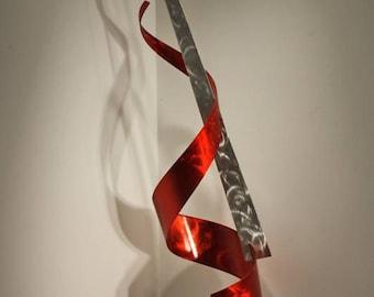 Abstract Metal Art Decor Sculpture, Modern Table Metal Sculpture, Metal Table Art Decor, Original Art, Design by Alex Kovacs - AK355