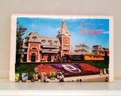 Disneyland Postcard Set Greetings From Disneyland This Is Disneyland Magic Kingdom Mickey Mouse  FREE USA SHIPPING
