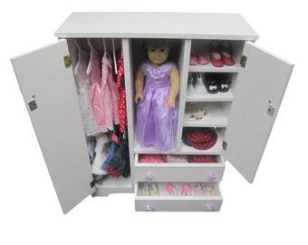 """18"""" Doll Wardrobe fits American Girl Doll"""