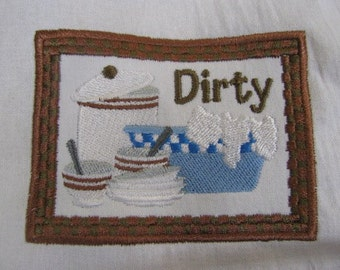 Dirty Dishes Towel - EXTRA STOCK