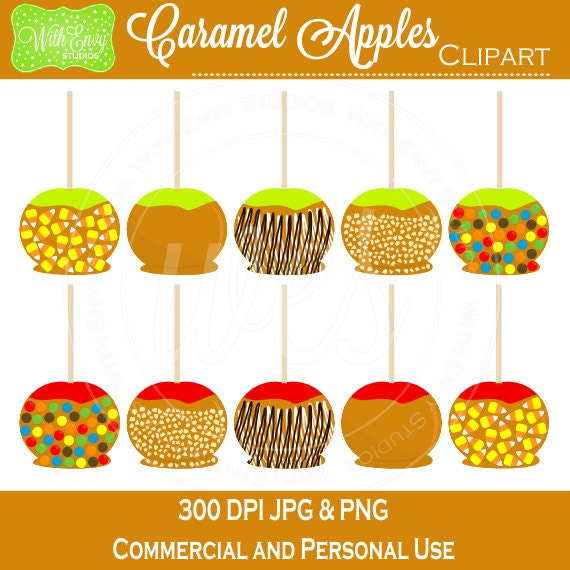 Vector Illustration Caramel Apple Red Candy Stock Vector (Royalty Free)  486849817