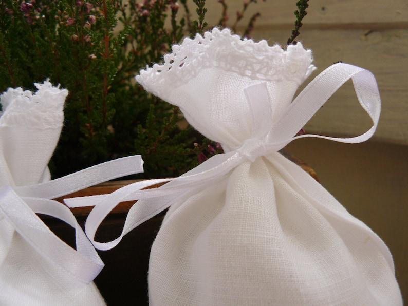 4 linen sachets lavender sachets jewelry organizer