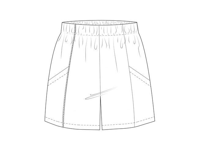 Ginger Shorts kids pdf sewing pattern