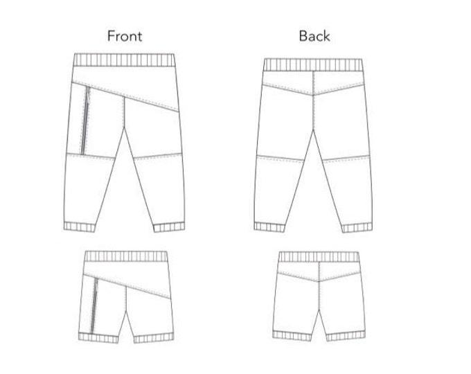 Liola Pattern Zippy Pants pdf sewing pattern