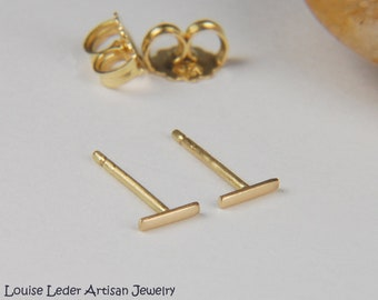 18k Gold Earrings Etsy