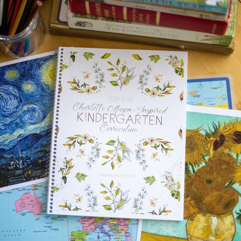 Charlotte Mason-Inspired Kindergarten Curriculum PDF image 0