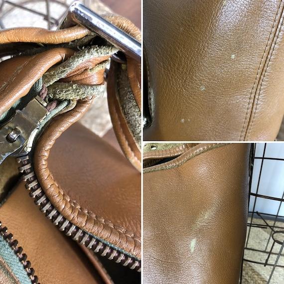 Bonnie Cashin RARE tan bucket bag c1960 Meyers Co… - image 10