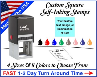 Trodat Custom Square Self-Inking Stamps