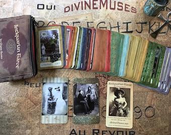 Antiquarian Tarot Deck w/ Bag