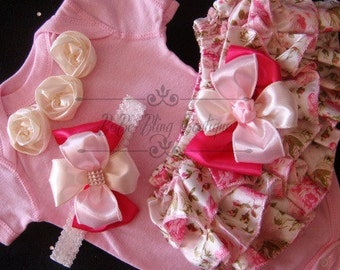 Newborn Take Home Outfit Baby Girl Vintage Outfit Complete baby girl clothing Set Victorian Vintage Pink, Ivory, Baby Girl Shower Gift