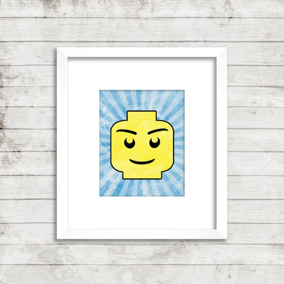 image relating to Lego Head Printable identify Lego Brain Artwork Printable