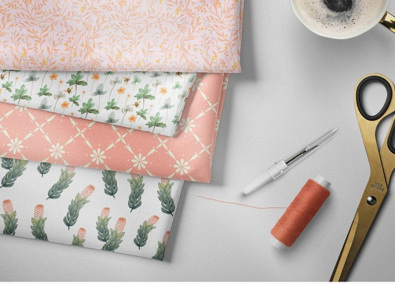 Australian Gumnut 100/% Cotton Fabric Quilting FQ  Patchwork Fat quarter or Meter