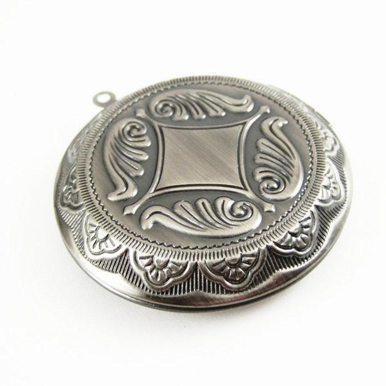 5pcs 30mm setting bezel round vintage style brass bronze,antiqued silver,silver fashion photo locket pendant charm 1111067