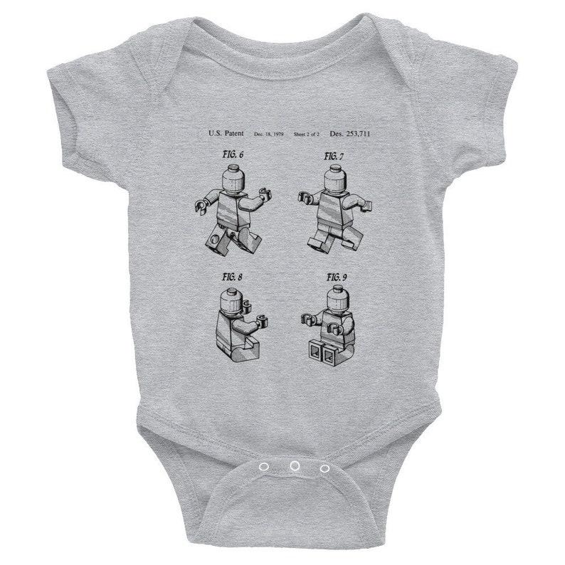 905e82743 Vintage LEGO Patent Infant Bodysuit Unisex Boys Girls Baby   Etsy