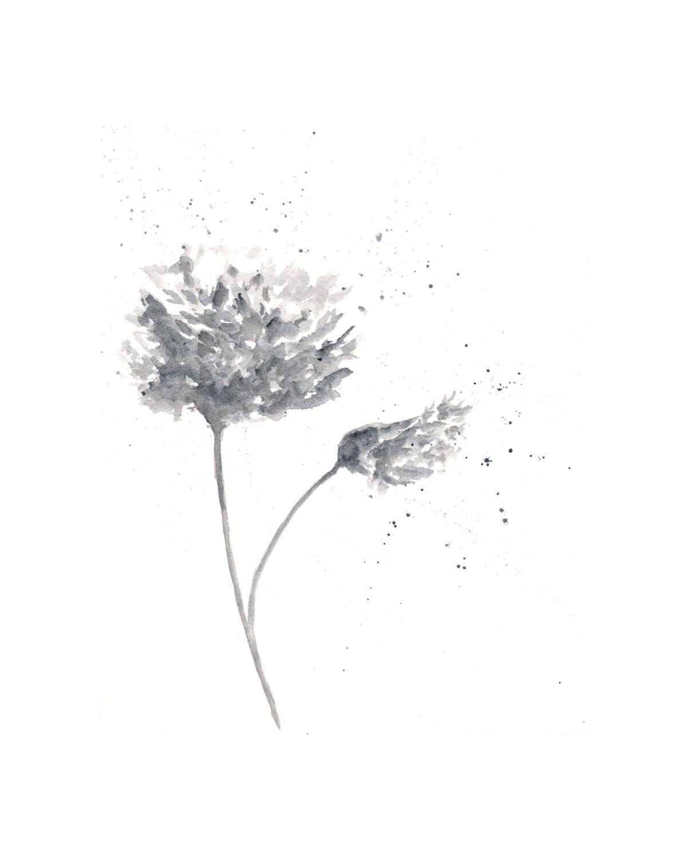Flower Painting Watercolor Painting Watercolor Flowers Etsy