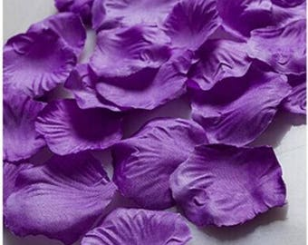 Lavender silk flower etsy lavender silk rose petals 400 petals pink wedding decoration 2 inch rose petals artificial petals flower girl petals table scatter mightylinksfo