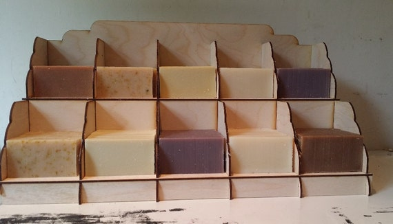 Soap Display Stand 40 Column Etsy Delectable Soap Display Stands