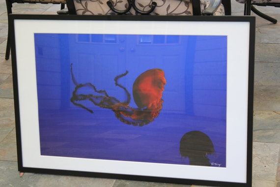 Dance of the Jelly--20x30 signed matted framed photo