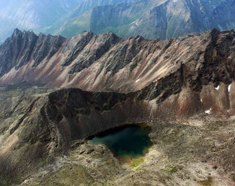 Mountains in Alaska, Arrigetch Peaks, Gates of the Arctic National Park, Alaska