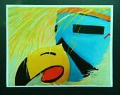 Eagle Kachina Close-Up 8 1 8 quot x 10 1 2 quot Wall Art Home Decor Print