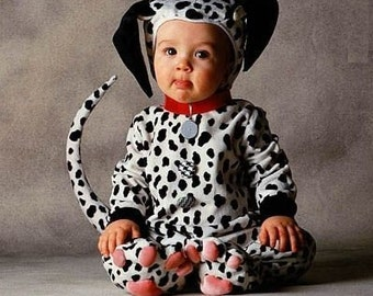 6d4cb90c1f9d Dalmation puppy dog costume... Only size available is 1 T. Free priority  mailing