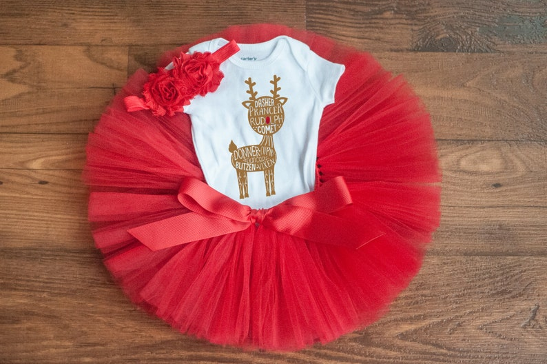 8dde4099e543 Reindeer outfit for baby Debra reindeer outfit for | Etsy