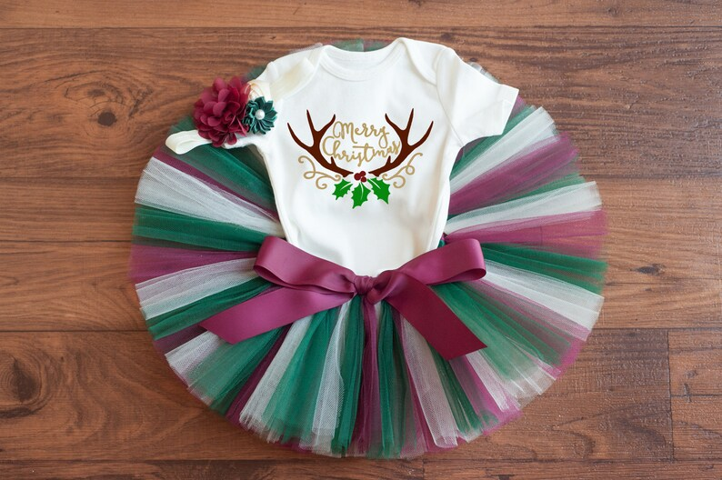 e37990dc7606 Christmas outfit Noah Deer Christmas outfit baby | Etsy