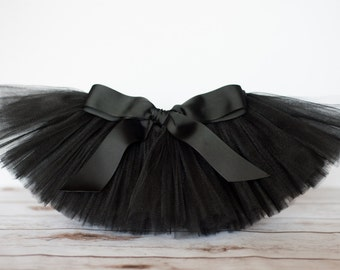 "Black tutu ""Desaraye"" girls tutu children's tutu photo prop birthday tutu skirt size 5,6,7,8,10,12 dress up skirt"