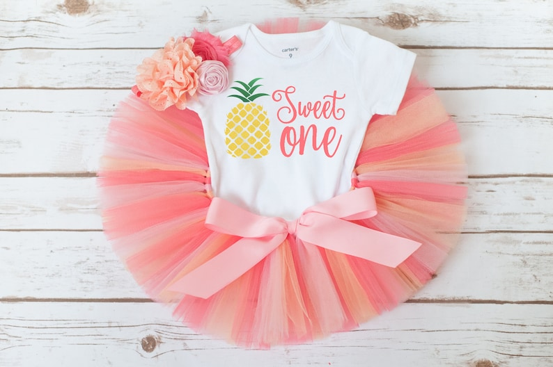 Pineapple first birthday