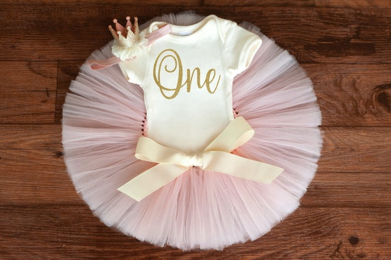 Floral birthday outfit /'Emory/' Floral first birthday outfit girl first birthday outfit blush gold floral 1st birthday girl cake smash set