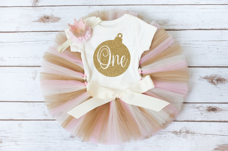 First birthday outfit girl pink and gold /'Luca Gold/' birthday outfit pink and gold pink and gold first birthday first birthday tutu outfit