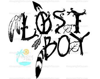 Lost Boy Svg Etsy