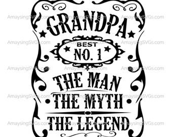 Grandpa Svg Etsy