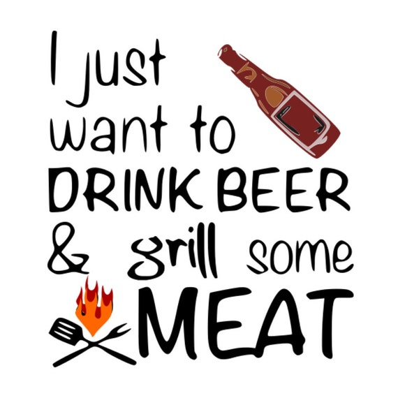 Free Add 4 designs to your cart, use promo code: Svg Fathers Day Drink Beer And Grill Meat Bbq Beer Etsy SVG, PNG, EPS, DXF File