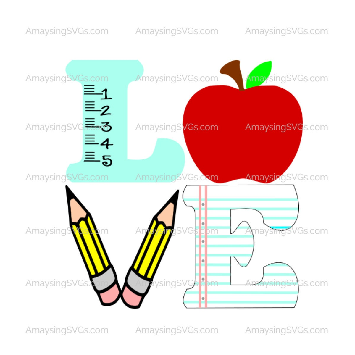 Love Teacher svg Teacher Appreciation svg Teacher gift svg ... (1200 x 1200 Pixel)