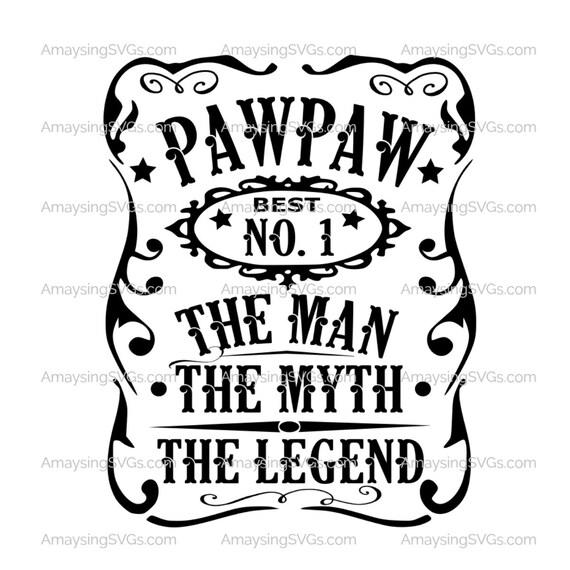Pawpaw man myth legend svg pawpaw fathers day svg grandfather etsy image 0 publicscrutiny Gallery