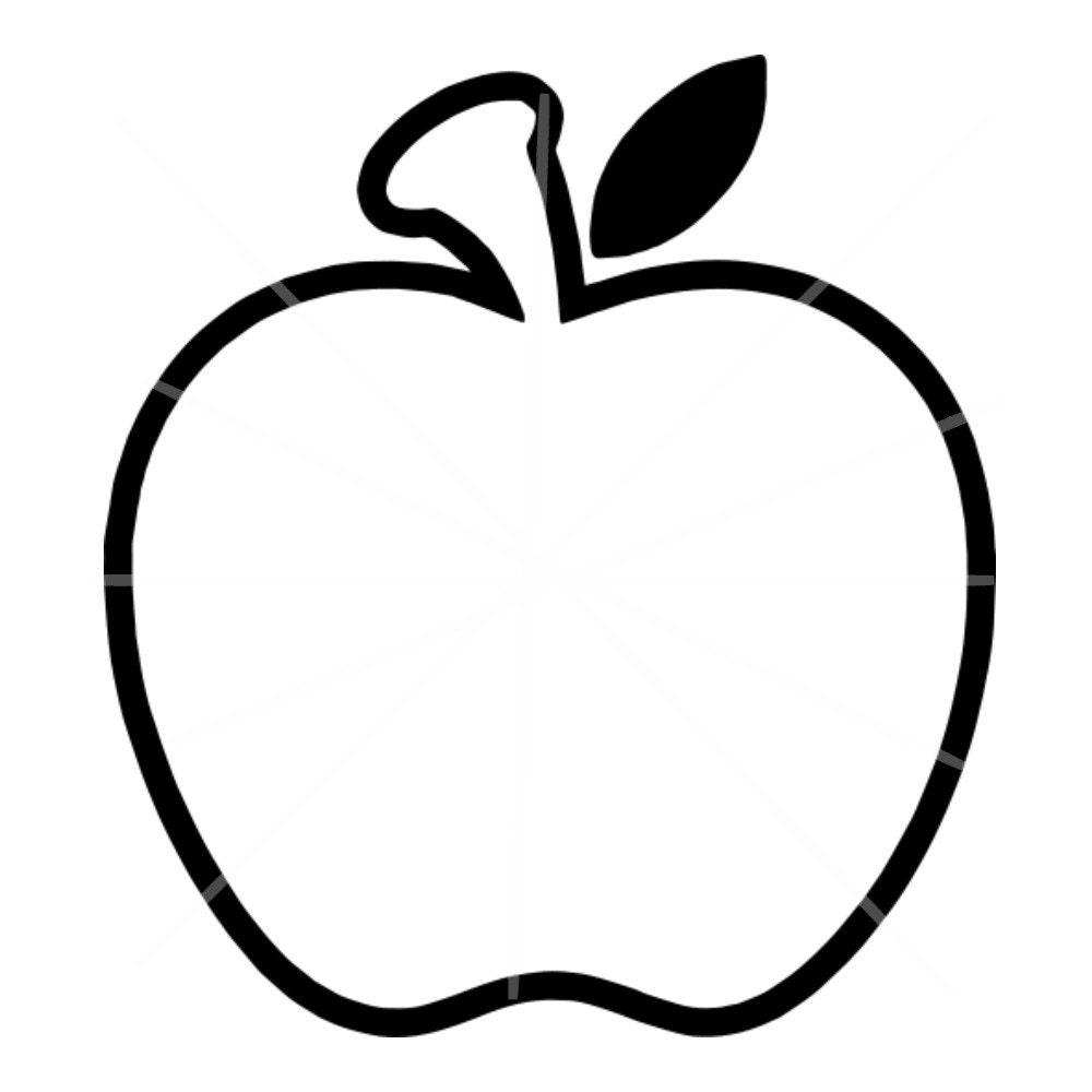 SVG Apfel-Monogramm-Rahmen SVG Apple Rahmen Apple | Etsy