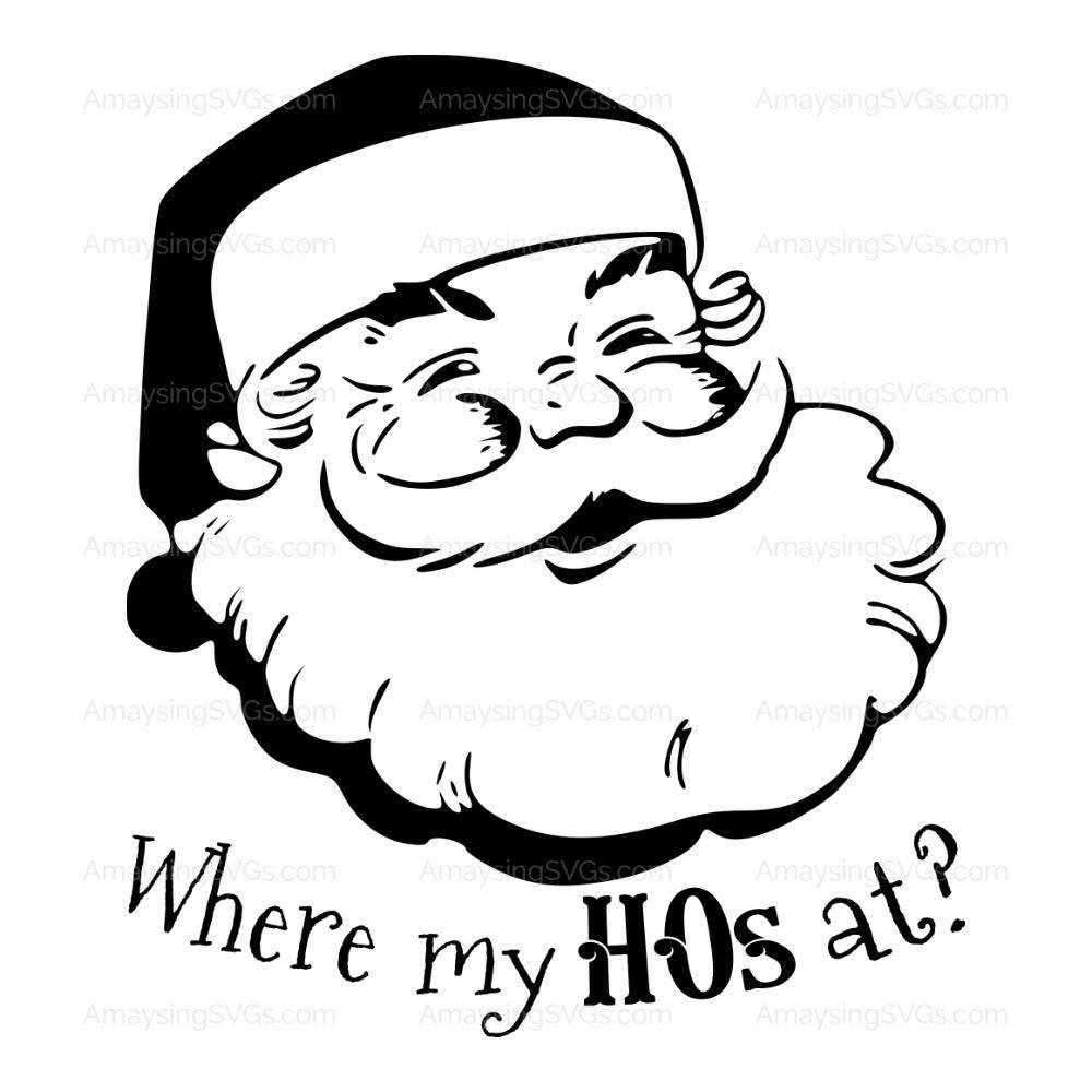 SVG wo meine HOs an Weihnachten Tshirt SVG Herren Tshirt | Etsy