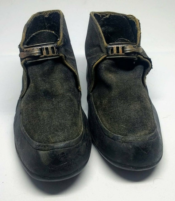 1920's Antique Child's rain boots/shoes by Federal
