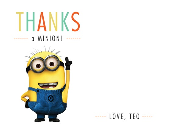 Thank You Logo Minions Free Vector And Clipart Ideas