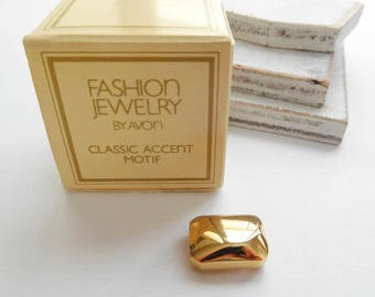 Vintage Avon Classic Accent Motif Slide Charm Dramatic Beauty Choker Necklace Q2